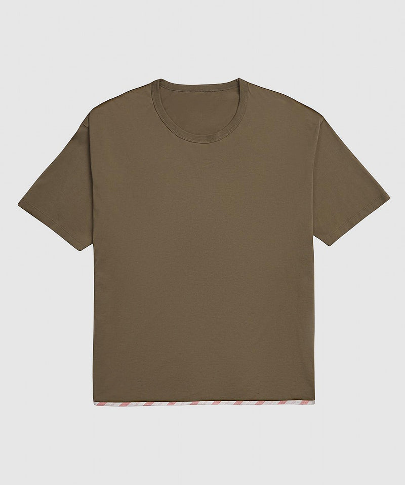 Grey or Brown Sublig Jumbo T-Shirt