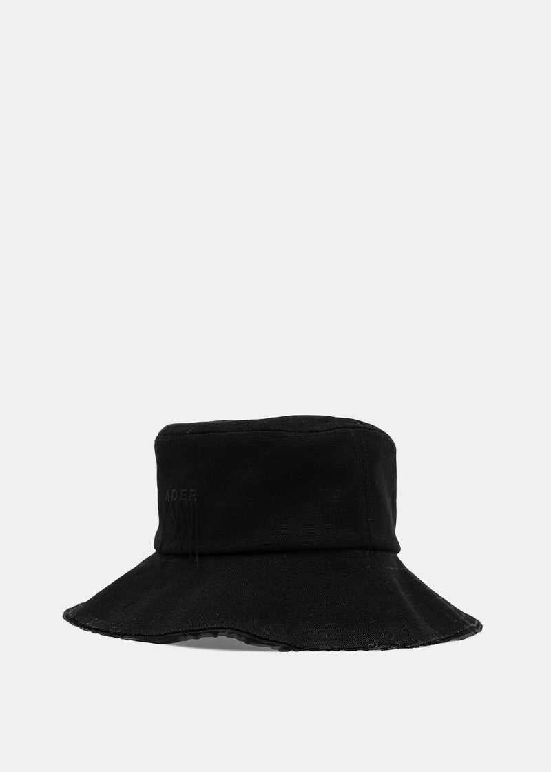 Black Logo Bucket Hat