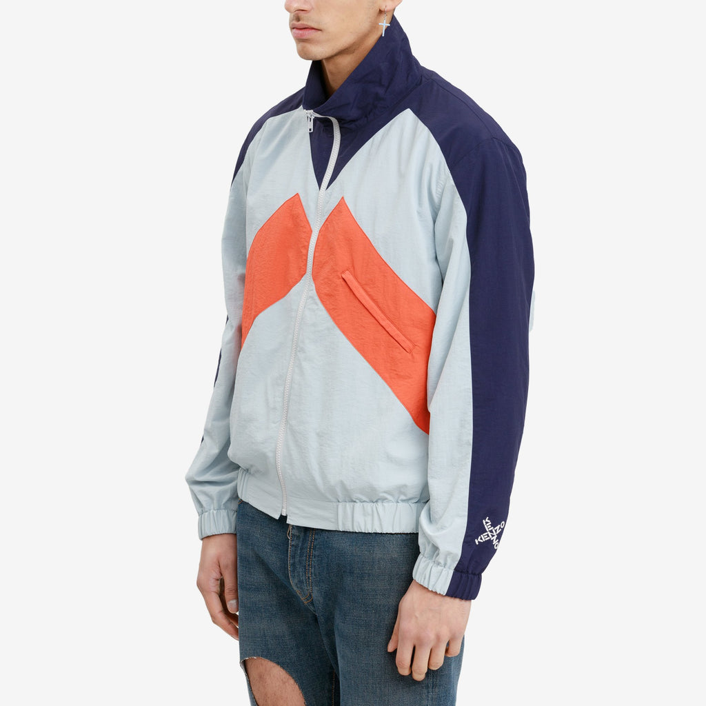 Pale Grey Sport Windbreaker