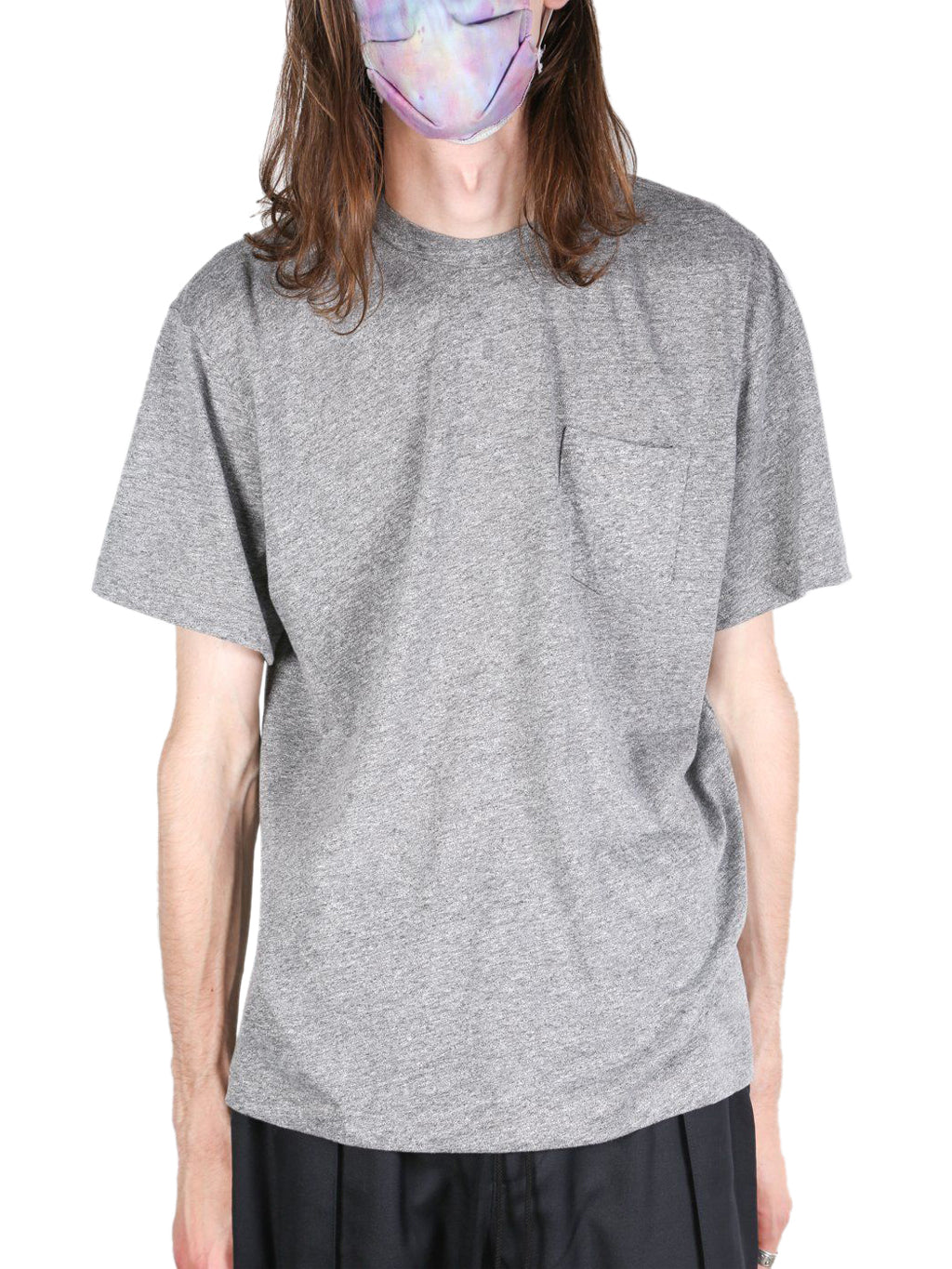 Grey Lucky Pocket T-Shirt