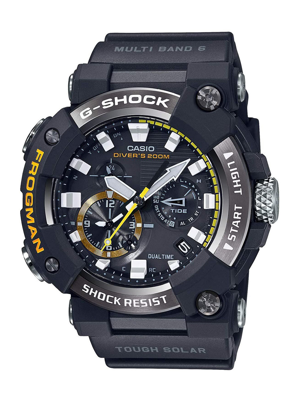 Black G-Shock Frogman Master Of G ISO Watch