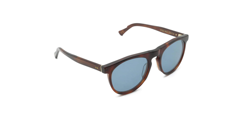 Blue & Brown Otis Russet Sunglasses