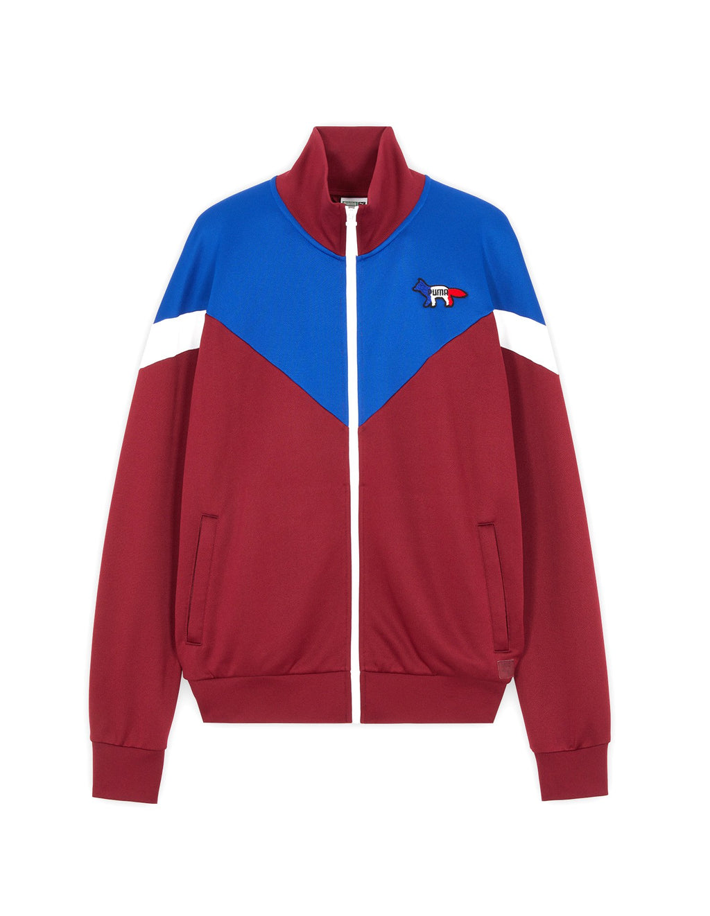 Red & Blue Maison Kitsune x Puma Track Top