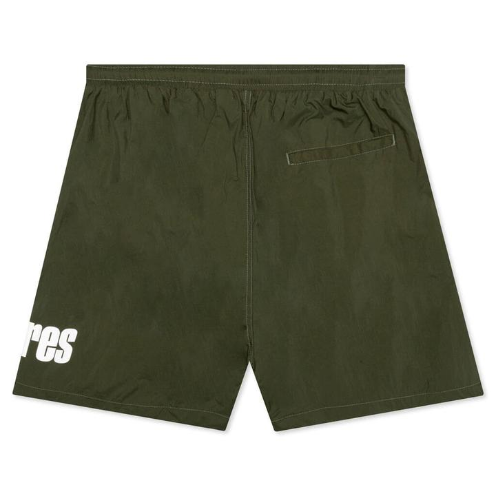 Green Electric Active Shorts