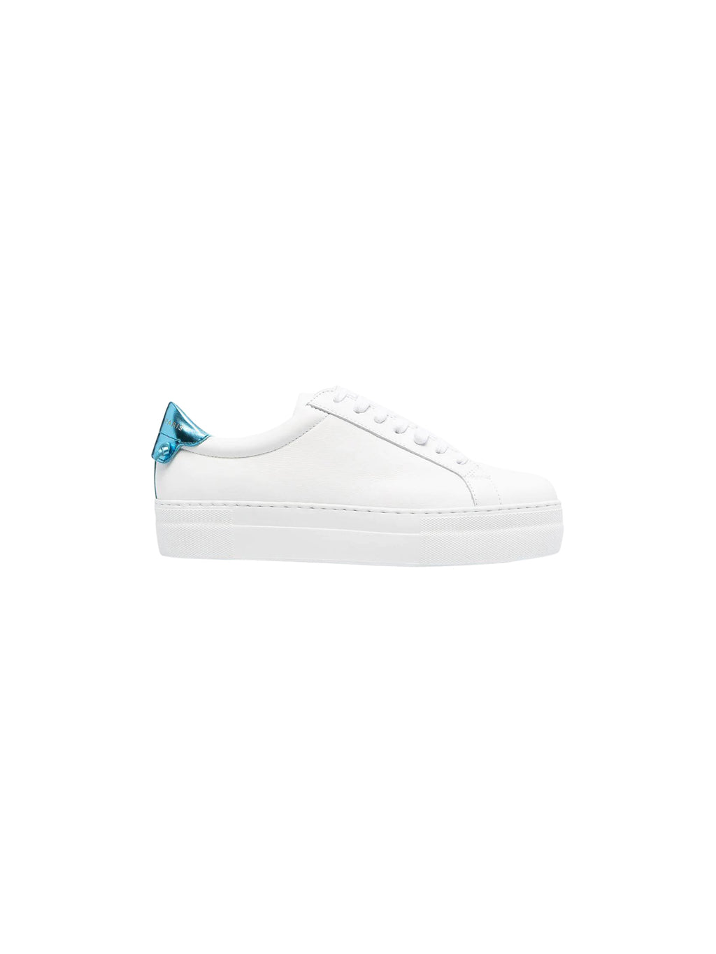White & Blue Two Tone Urban Street Sneaker