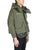 Green Vintage Army Tent Cut Fishtail Parka thumbnail 2
