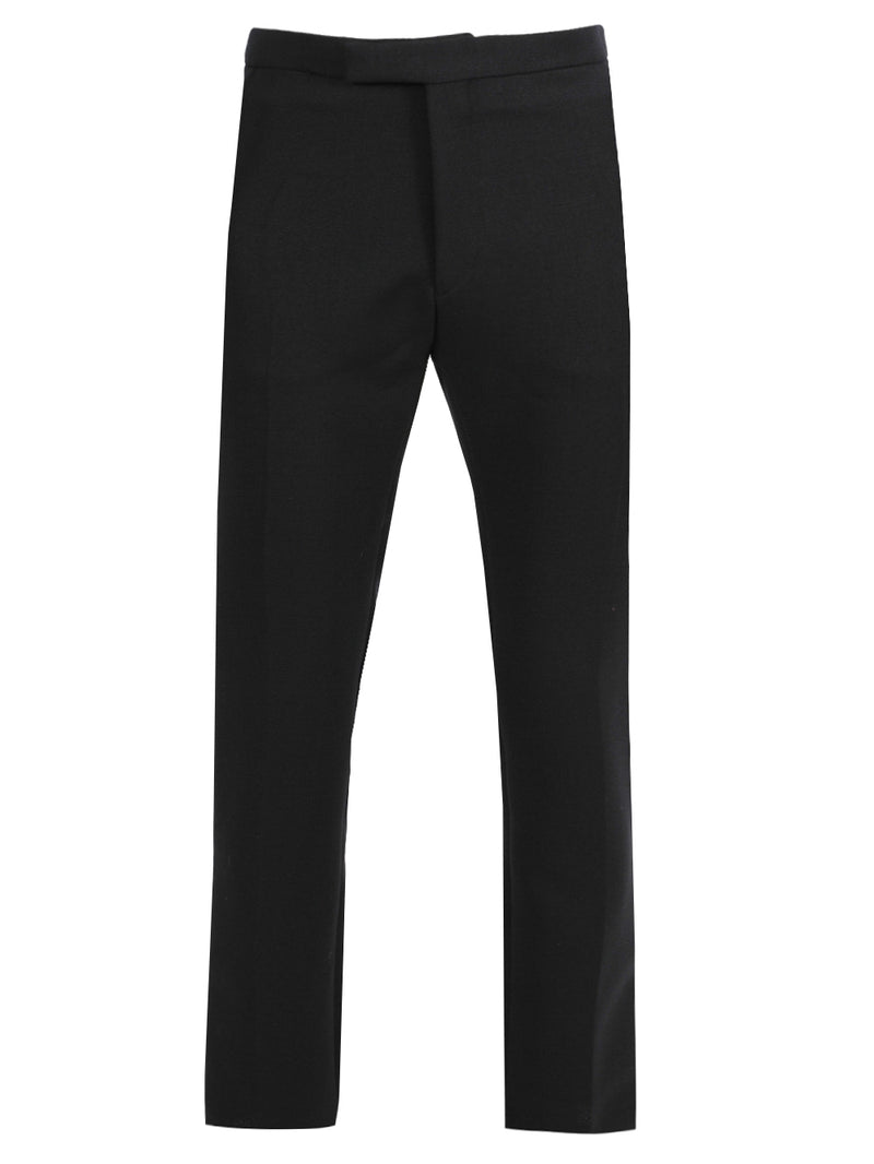Navy Slim-Fit Pants