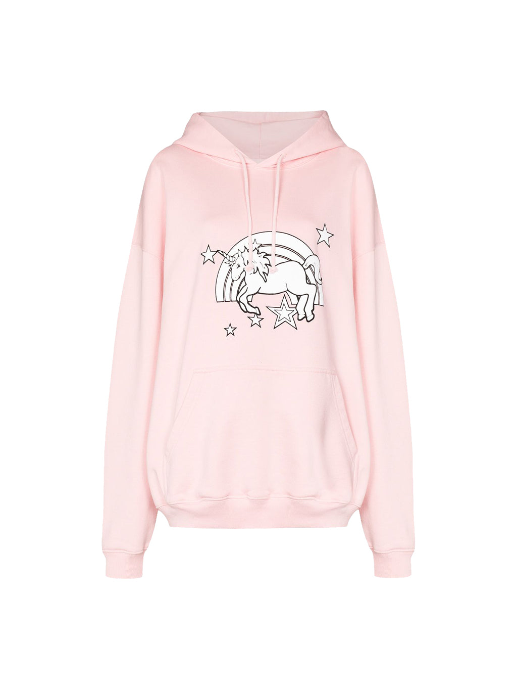 Baby Pink Unisex Magic Unicorn Hoodie