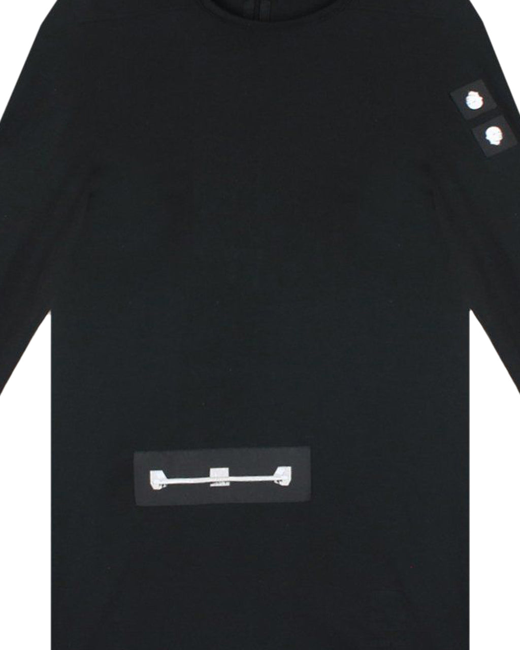 Black Long Sleeve Level T-Shirt
