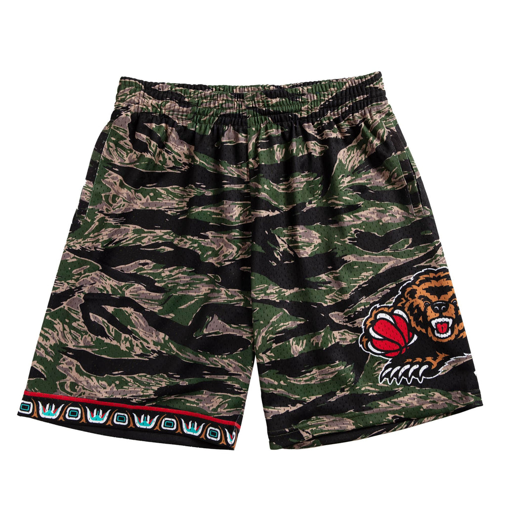 Camo NBA Vancouver Grizzlies Swingman Shorts
