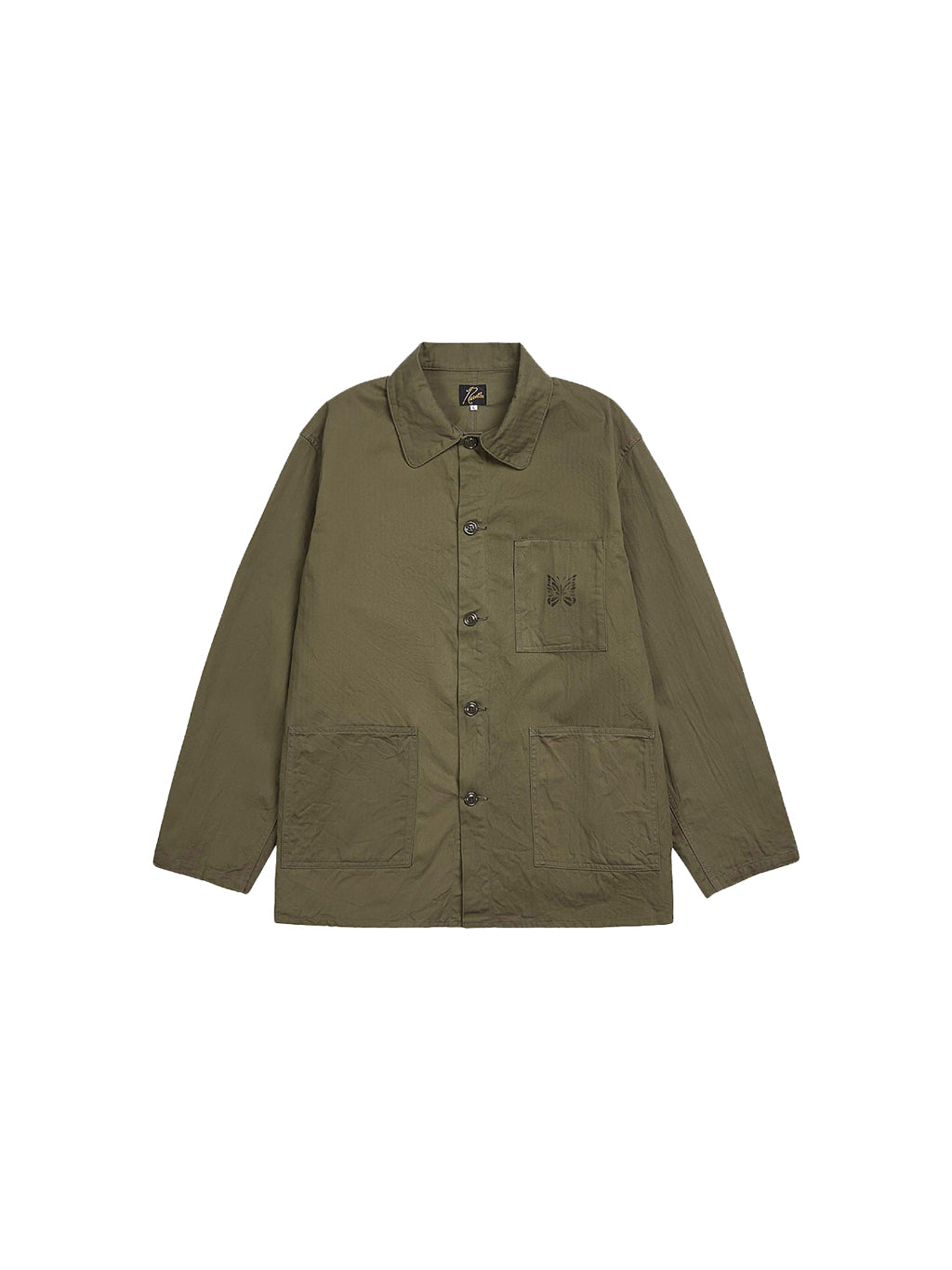 Olive Coverall Jacket
