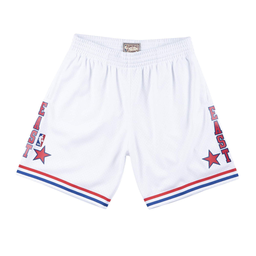 White NBA 1988 All Star East Swingman Shorts