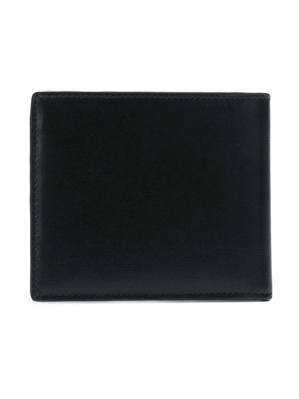 Black East West Monogram Wallet