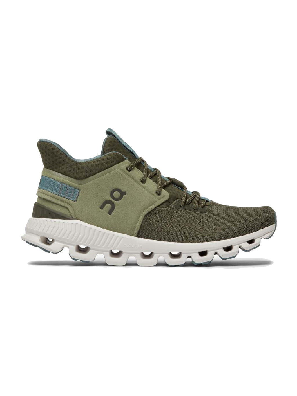 Green Cloud Hi Edge Sneakers