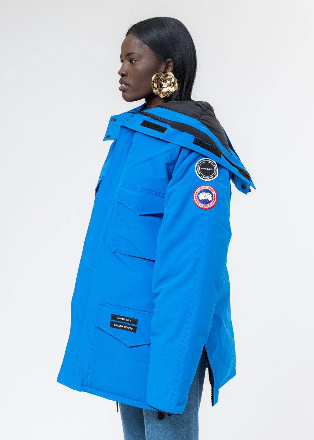 Blue Canada Goose Edition Down Constable Parka