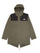 Green or Black City Breeze Rain Parka thumbnail 1
