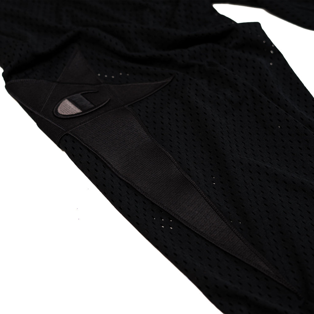 Black Champion Track Mesh Pants