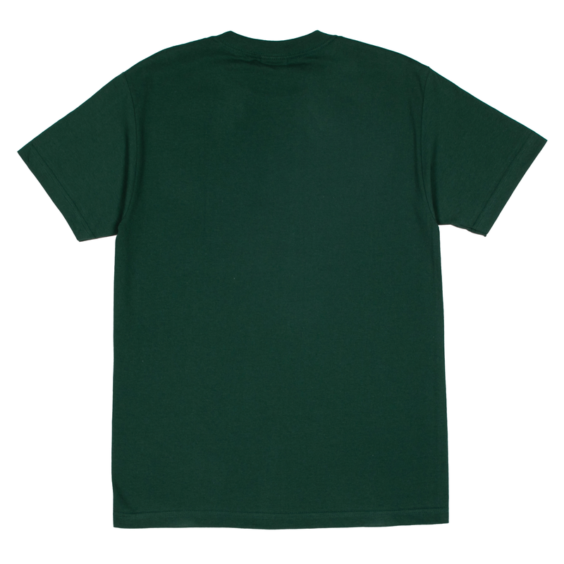 Green Wordmark Cotton T-Shirt