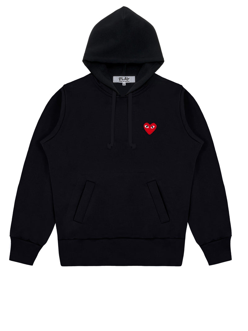 Black Play Hooded Sweatshirt