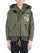 Green Vintage Army Tent Cut Fishtail Parka thumbnail 1