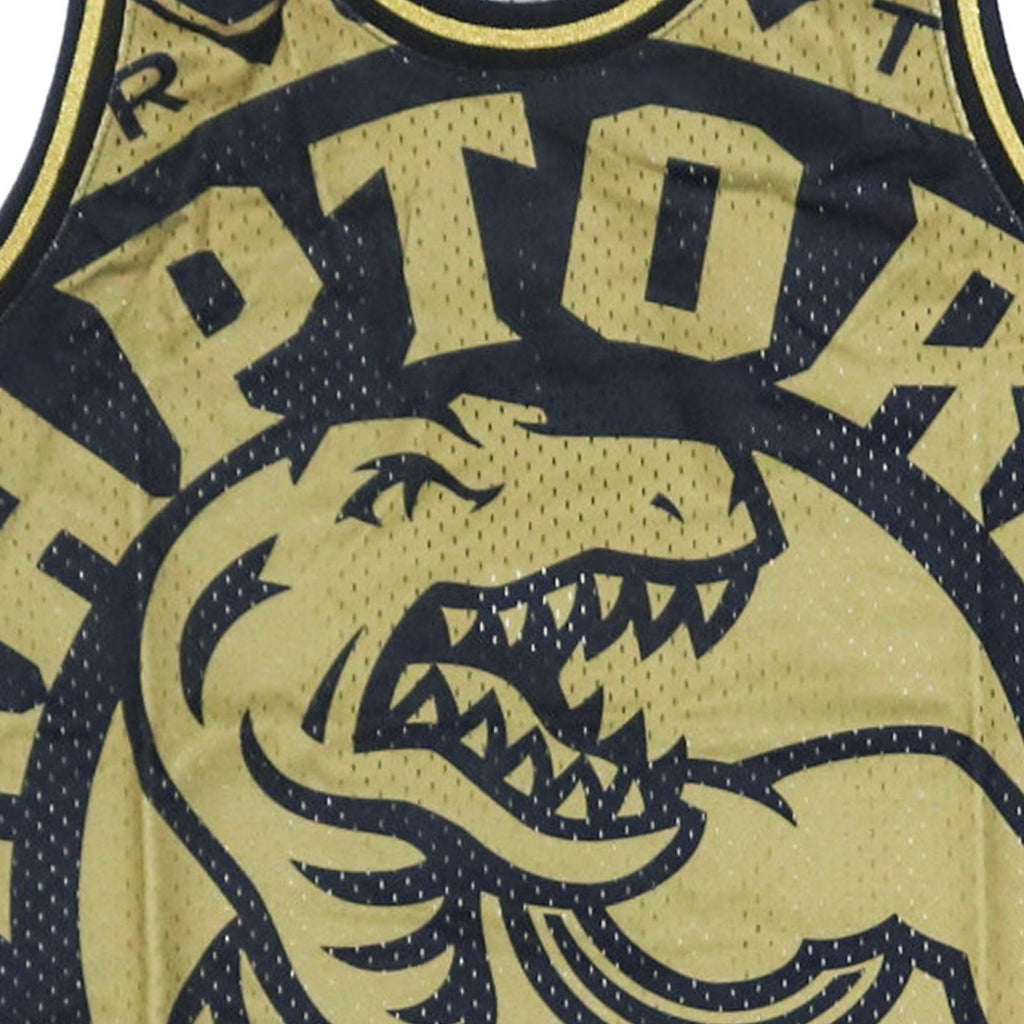 Black & Gold NBA Toronto Raptors Big Face Jersey