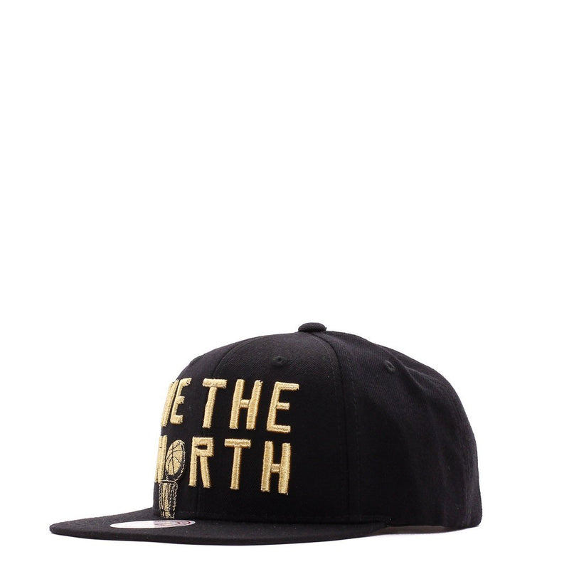 Black NBA Toronto Raptors We The North Trophy Snapback