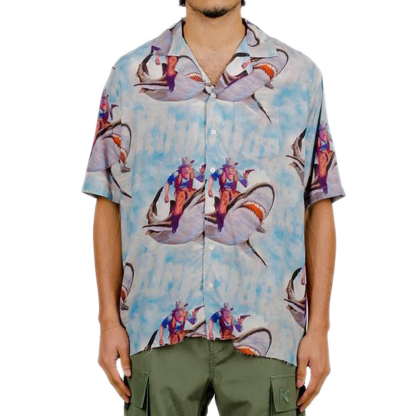 Multi Shark Hawaiian Shirt