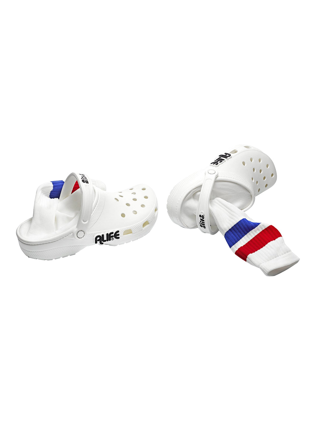 White Sport Clogs