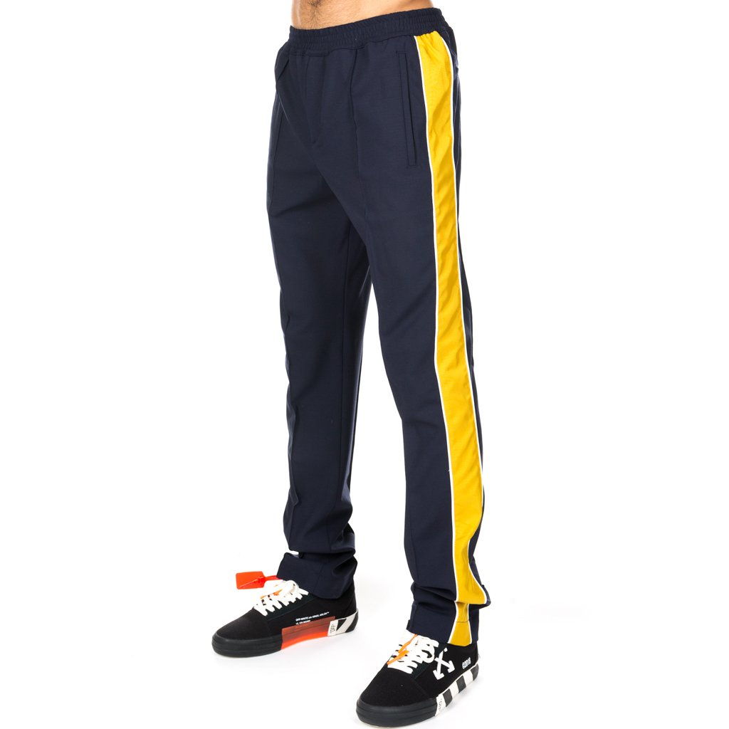 Navy Urban Taped Track Pants