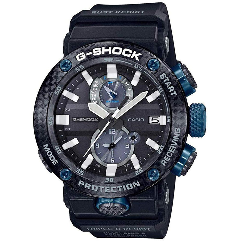Black & Blue G-Shock Gravitymaster GWRB1000-1A1 Watch