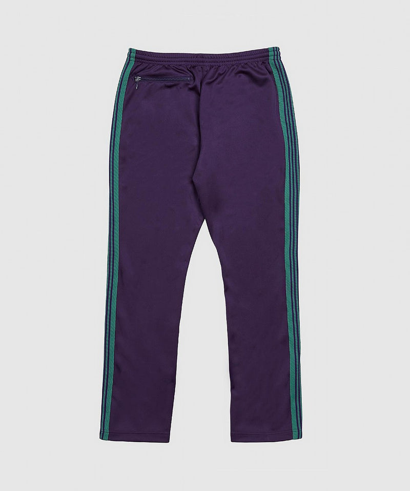 Yellow & Purple Poly Smooth Track Pants