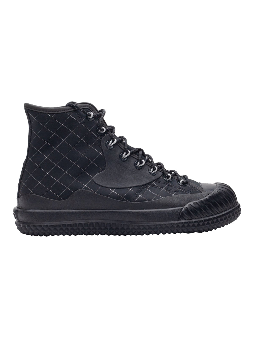 Black  x Slam Jam Bosey MC Hi Sneakers