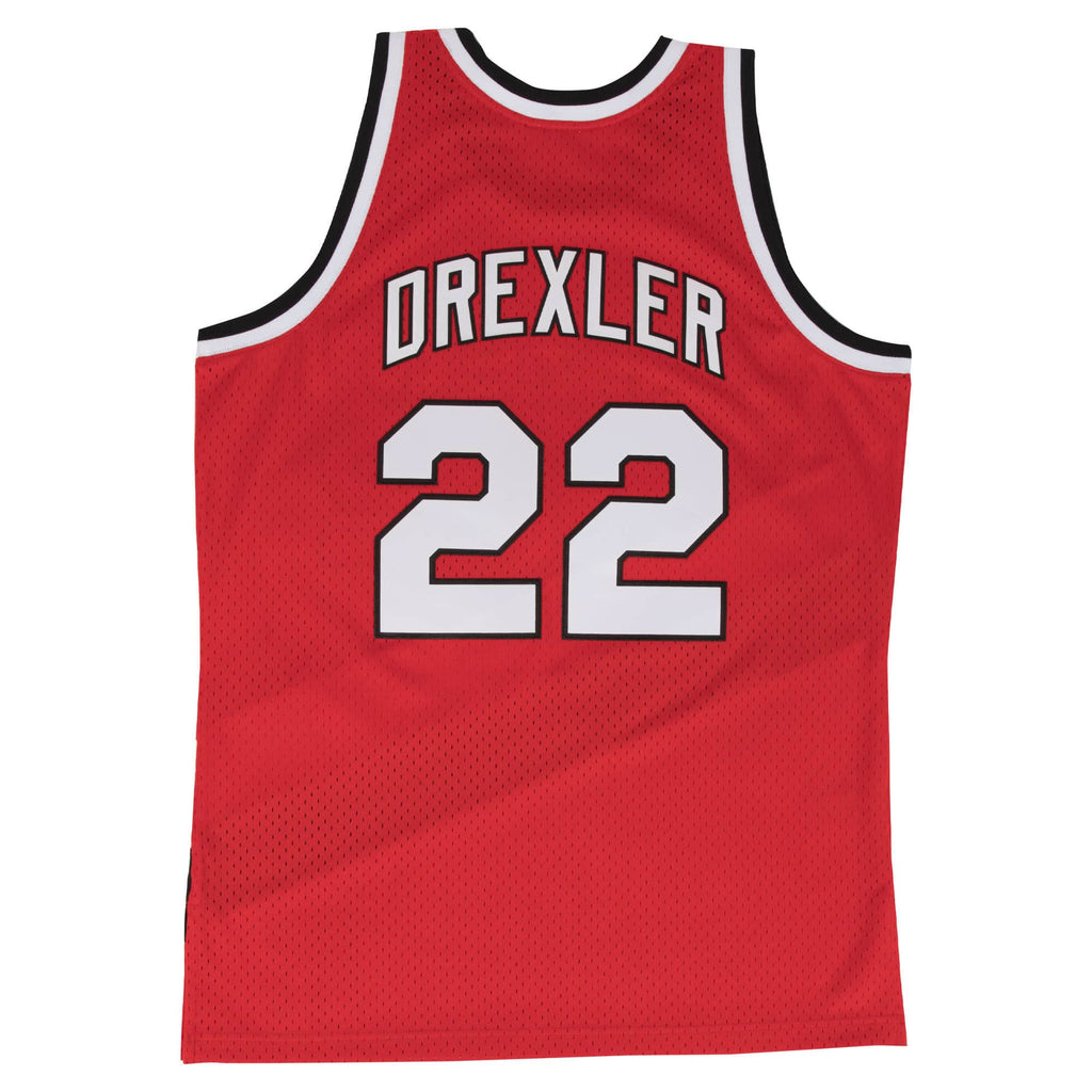 Red NBA Portland Trail Blazers Swingman Jersey