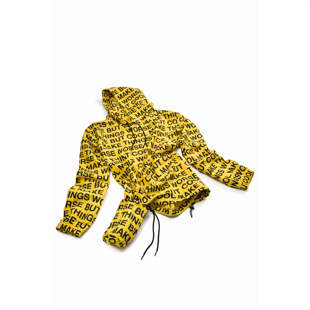 Yellow Randomevent All Over Print Windbreaker