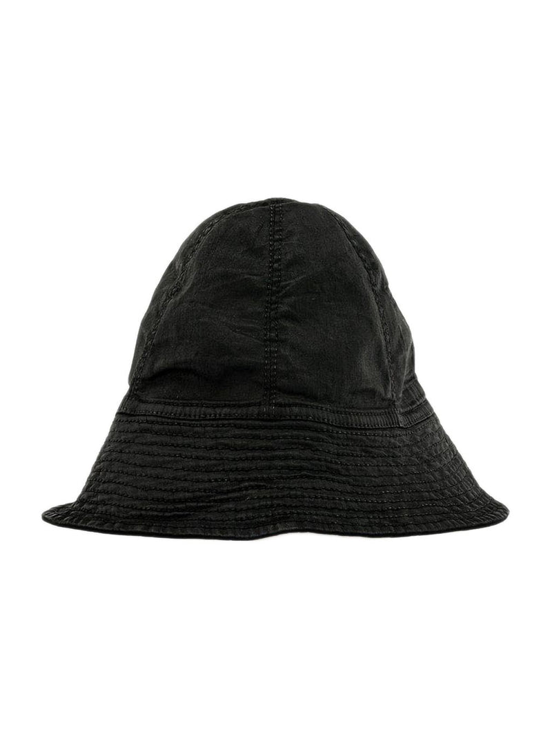 Black Waxed Gilligan Hat