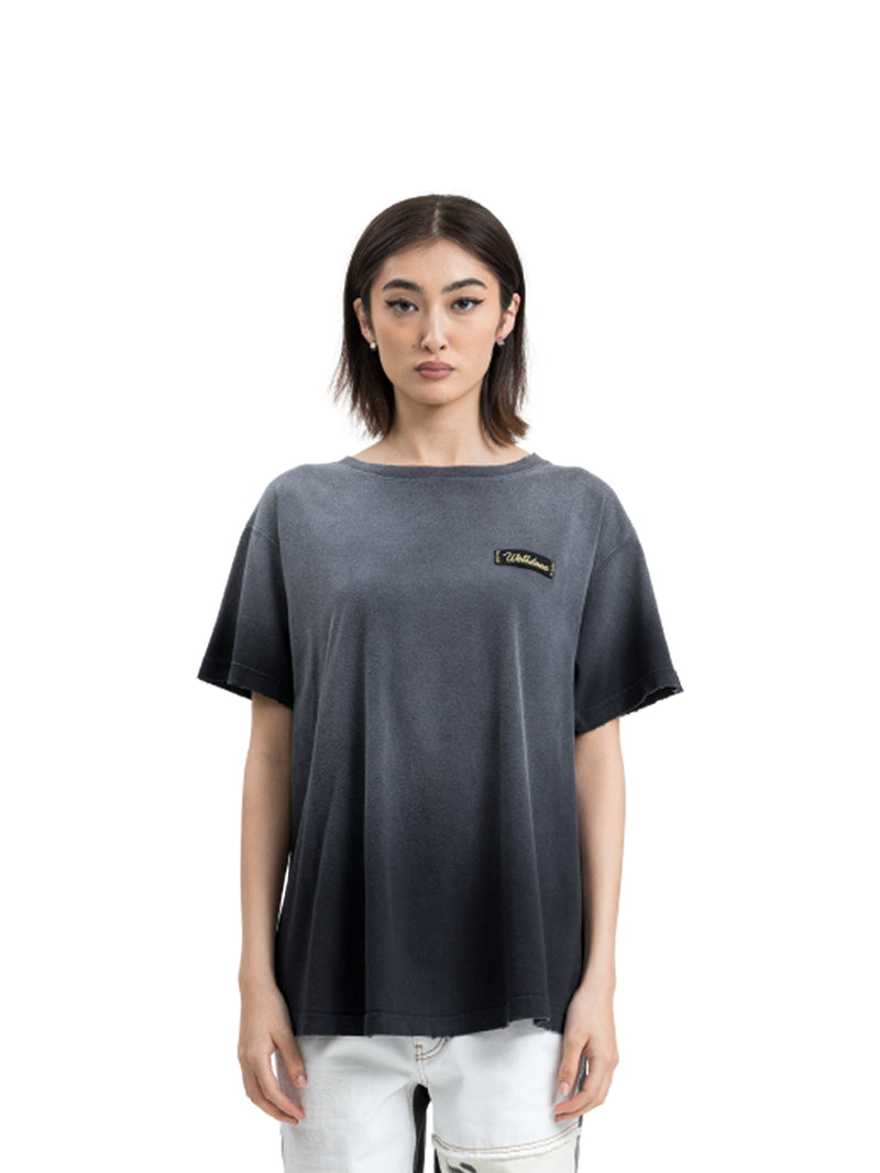Black Butterfly Washed T-Shirt