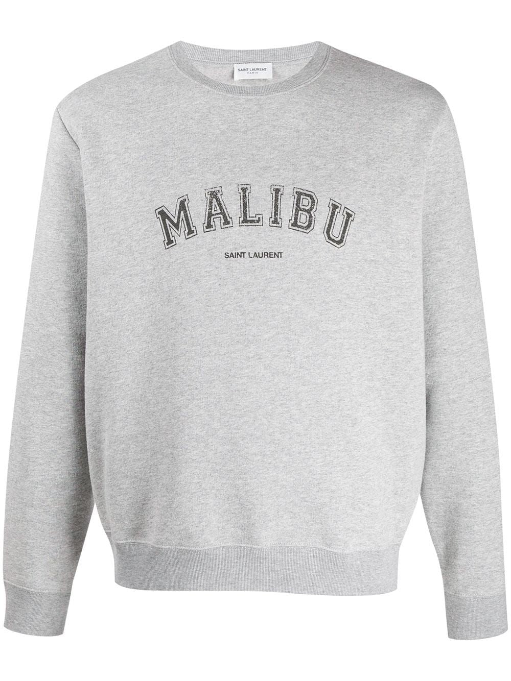 Grey Malibu Crew-Neck Sweatshirt