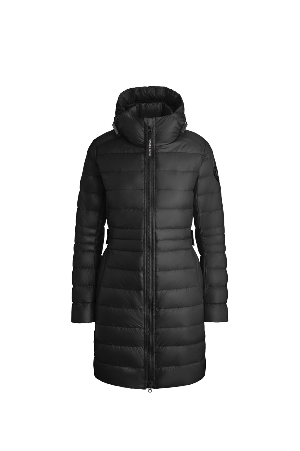 Black Cypress Hooded Black Label Down Jacket
