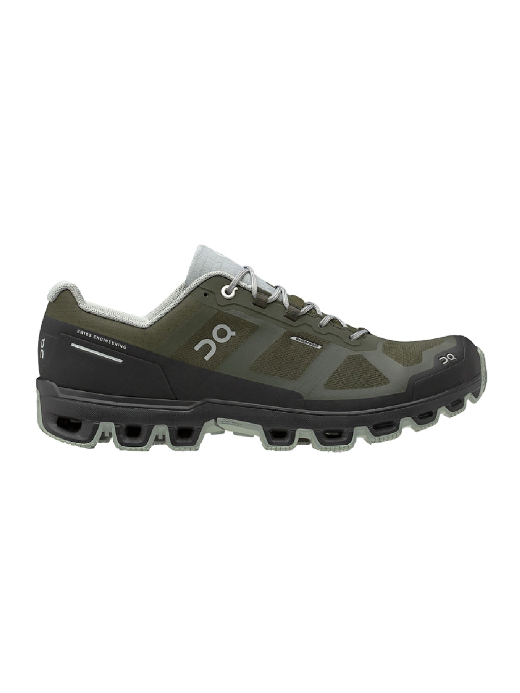 Green & Black Cloudventure Waterproof Sneakers
