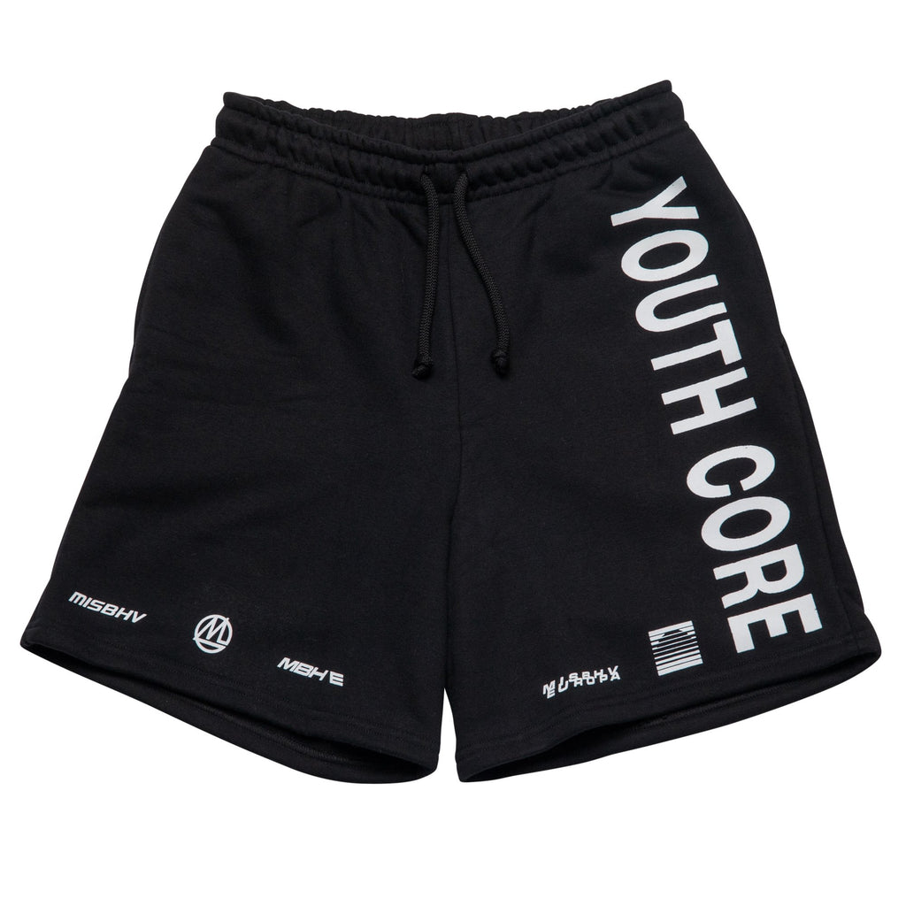 Black Youth Core Streetwear Shorts