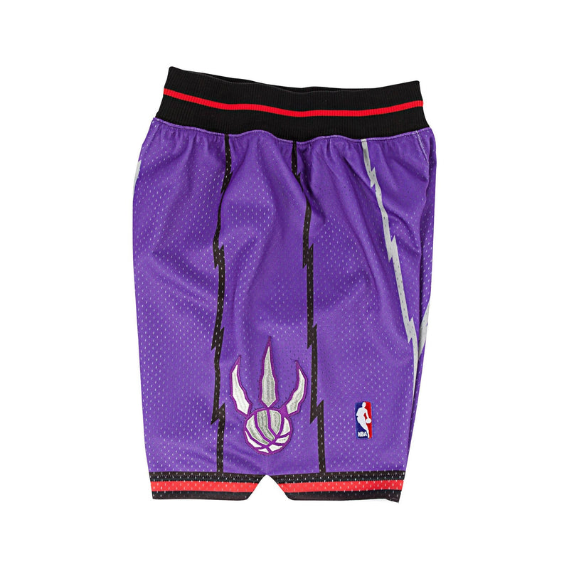 Purple NBA Toronto 1998 Raptors Authentic Shorts