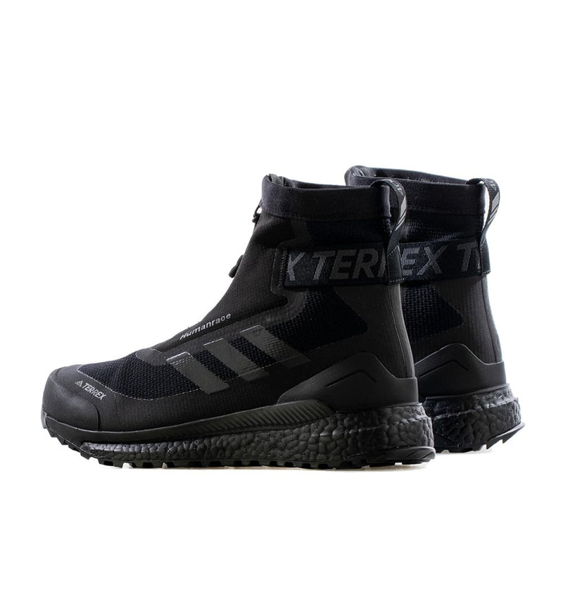 Black Pharrell x adidas Free Hiker Zip Shoes