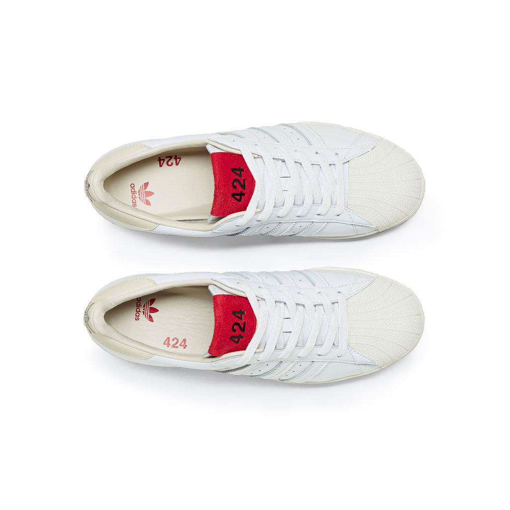 White Shell Toe Sneakers