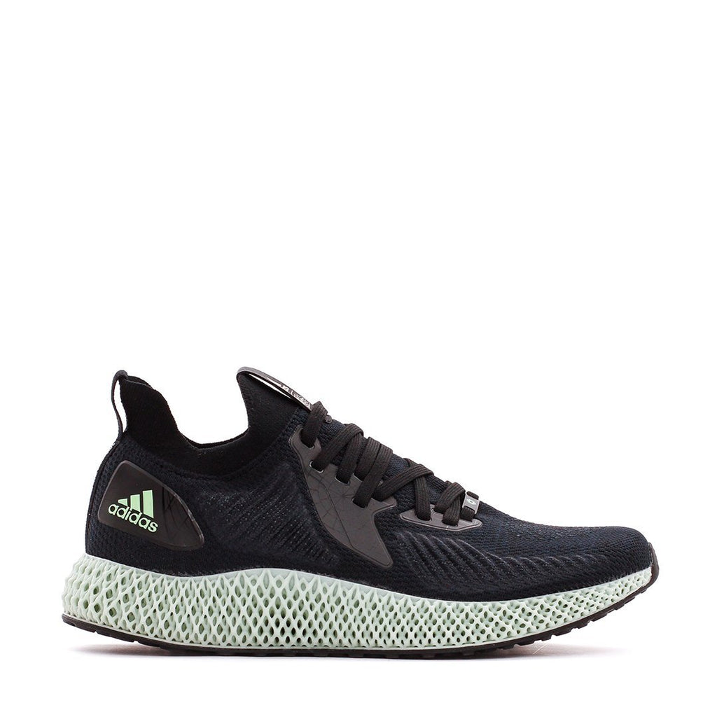 Black & White Running Alphaedge 4D x Star Wars Death Star Sneakers