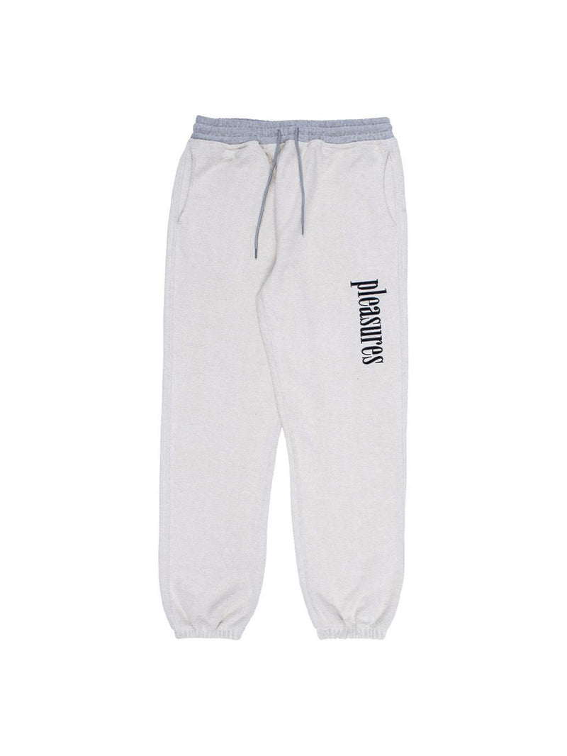 Grey Logic Reverse Terry Sweatpants
