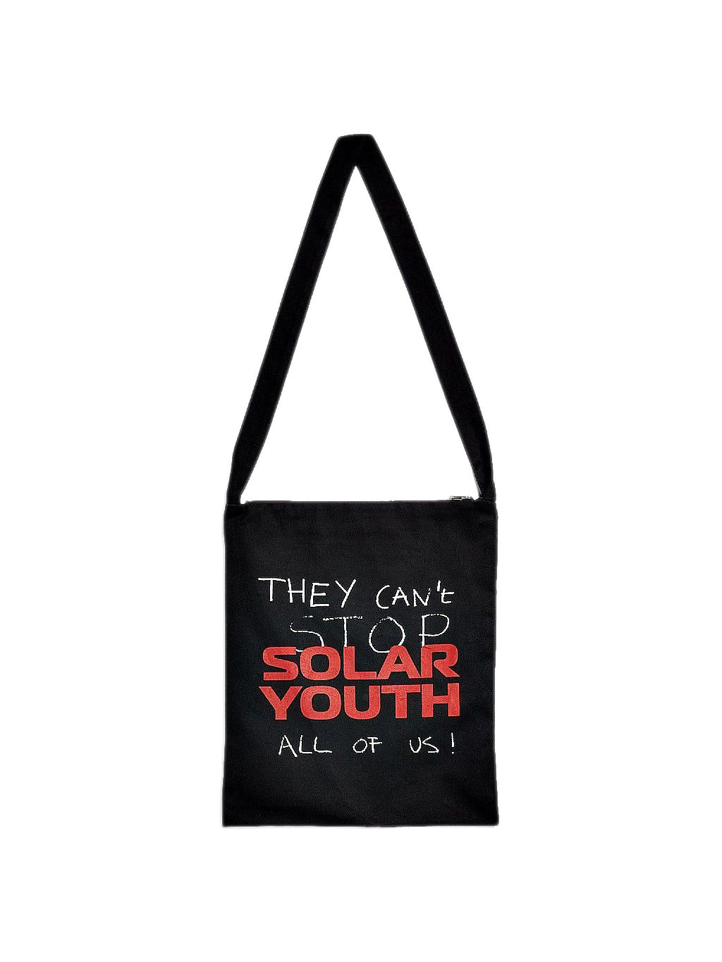 Black Solar Youth Tote Bag