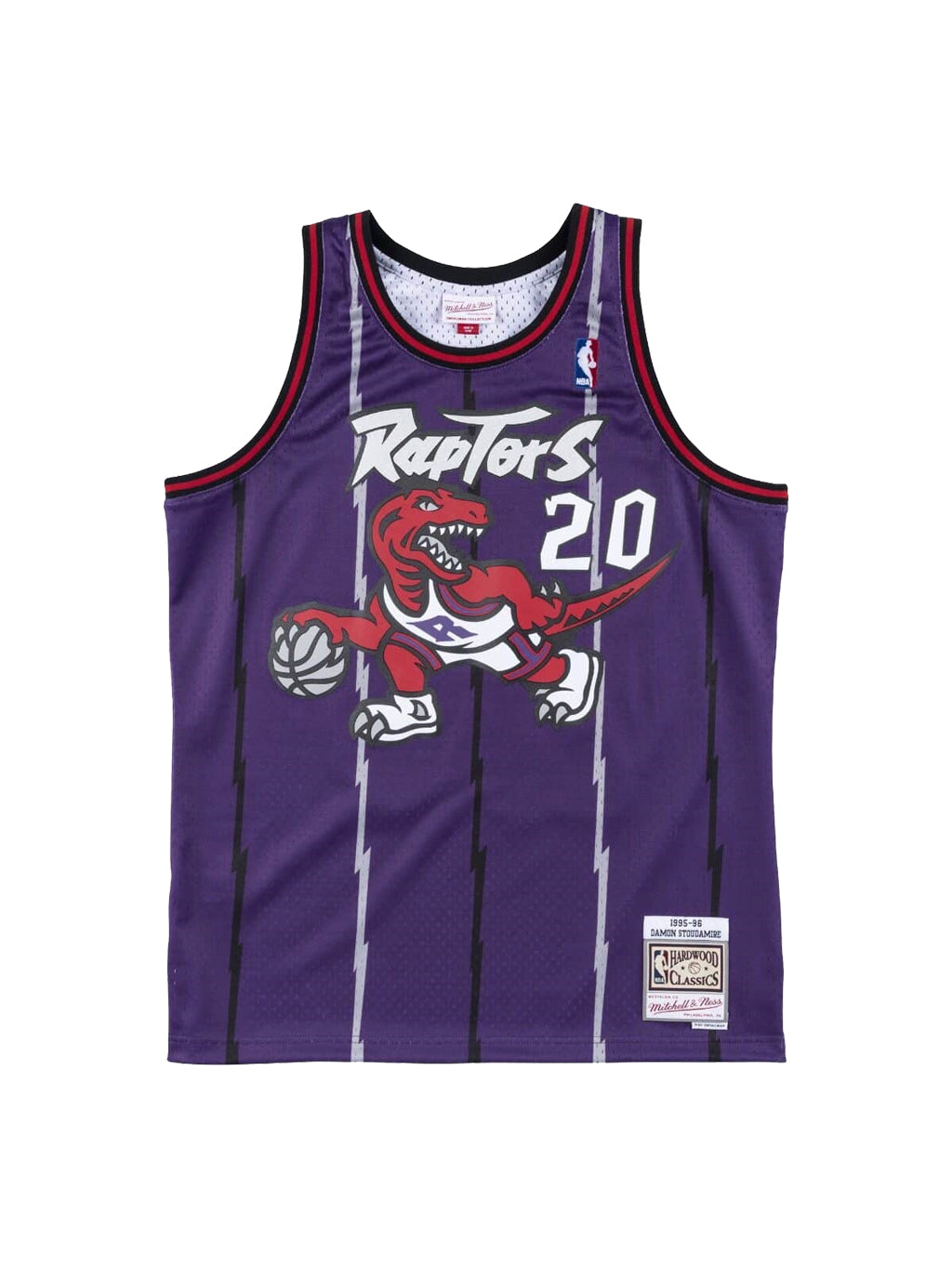 Purple NBA Toronto Raptors Swingman Jersey Damon Stoudamire 95-96 Tank Top