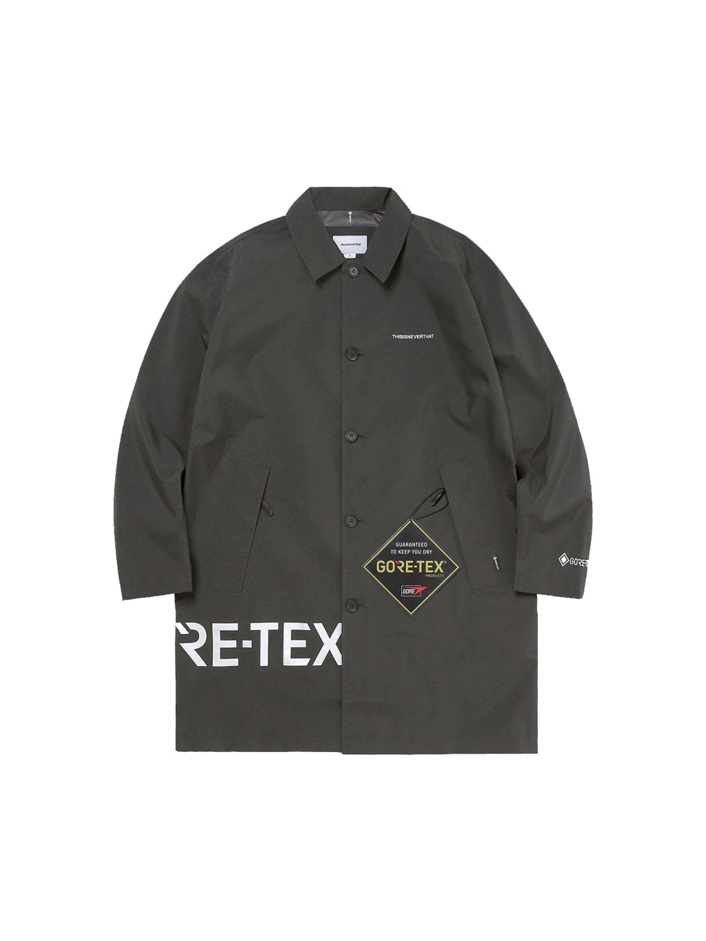 Black Gore Tex Paclite Coat