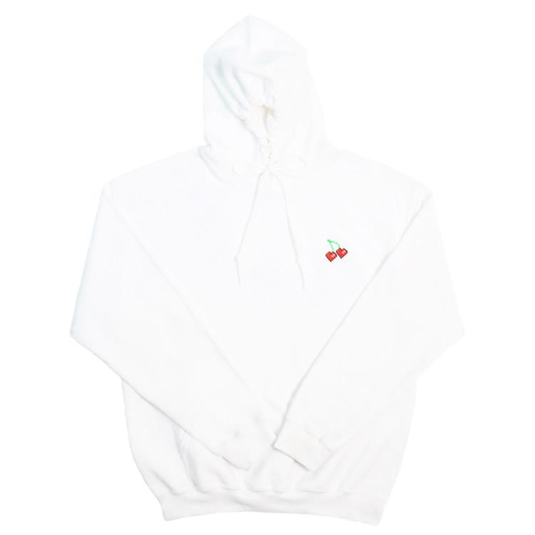 'Cherry Cheesecake' White Hoodie - Test