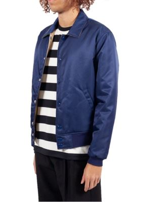 Blue Reversible Bomber Jacket